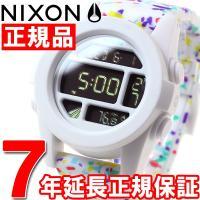 ニクソン NIXON ユニット UNIT 腕時計 メンズ ホワイトマルチスポックル NA197231...