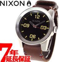 ニクソン NIXON コーポラル CORPORAL 腕時計 メンズ ブラック/ブラウン NA2430...