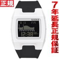 ニクソン NIXON ローダウンシリコン LODOWN SILICONE 腕時計 メンズ ホワイト/...