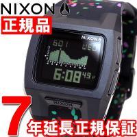 ニクソン NIXON ローダウンシリコン LODOWN SILICONE 腕時計 メンズ ブラックマ...