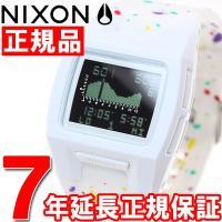 ニクソン NIXON ローダウンシリコン LODOWN SILICONE 腕時計 メンズ ホワイトマ...