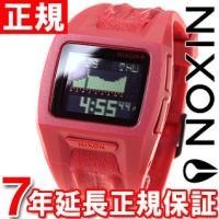 ニクソン NIXON ローダウン2 LODOWN II 腕時計 メンズ レッドノットクロコ デジタル...