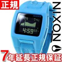ニクソン NIXON ローダウン2 LODOWN II 腕時計 メンズ スカイブルーノットクロコ デ...