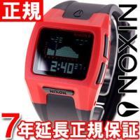 ニクソン NIXON ローダウン2 LODOWN II 腕時計 メンズ レッド/ブラック デジタル ...