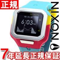 ニクソン NIXON スーパータイド SUPERTIDE 腕時計 メンズ シーフォーム/マゼンタ/イ...