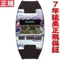 ニクソン NIXON コンプS COMP S 腕時計 レディース マーブルマルチ/ブラック デジタル...