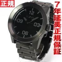 ニクソン NIXON コーポラルSS CORPORAL SS 腕時計 メンズ オールブラック NA3...