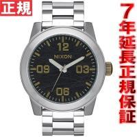 ニクソン NIXON コーポラルSS CORPORAL SS 腕時計 メンズ ブラック/ブラス NA...