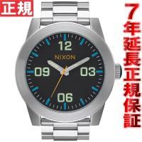 ニクソン NIXON コーポラルSS CORPORAL SS 腕時計 メンズ ブラック/マルチ NA...