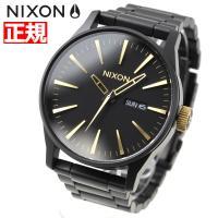 ニクソン NIXON セントリーSS SENTRY SS 腕時計 メンズ マットブラック/ゴールド ...