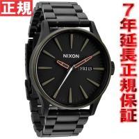 ニクソン NIXON セントリーSS SENTRY SS 腕時計 メンズ マットブラック/インダスト...