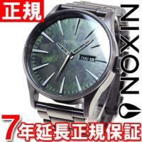 ニクソン NIXON セントリーSS SENTRY SS 腕時計 メンズ ガンメタル/グリーンオキシ...