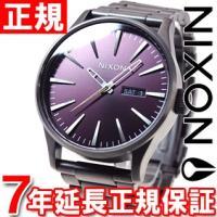 ニクソン NIXON セントリーSS SENTRY SS 腕時計 メンズ ガンメタル/ディープバーガ...