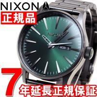 ニクソン NIXON セントリーSS SENTRY SS 腕時計 メンズ オールガンメタル/グリーン...