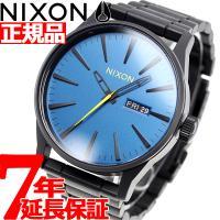 ニクソン NIXON セントリーSS SENTRY SS 腕時計 メンズ オールブラック/シーポート...