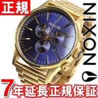 ニクソン NIXON セントリークロノ SENTRY CHRONO 腕時計 メンズ クロノグラフ ゴ...