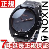 ニクソン NIXON アンセム ANTHEM 腕時計 メンズ オールブラック/ローズゴールド NA3...