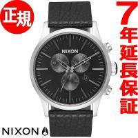 ニクソン NIXON セントリー クロノ レザー SENTRY CHRONO LEATHER 腕時計...