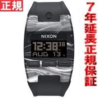 ニクソン NIXON コンプ COMP 腕時計 メンズ/レディース マーブルブラック/ホワイト デジ...