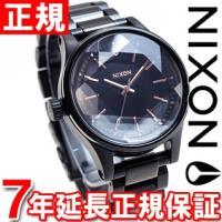 ニクソン NIXON ファセット38 FACET 38 腕時計 レディース オールブラック/ローズゴ...