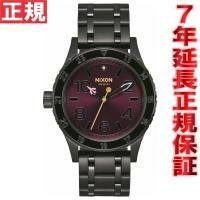 ニクソン(NIXON) 38-20 腕時計 NA410192-00 レディース ブラック/パープル ...
