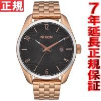 ニクソン NIXON ブレット BULLET 腕時計 レディース ローズゴールド/ブラックサンレイ ...