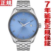 ニクソン NIXON ブレット BULLET 腕時計 レディース シルバー/スカイ/ガンメタル NA...