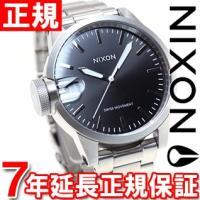 ニクソン NIXON クロニクル44 CHRONICLE 44 腕時計 メンズ ブラック NA441...