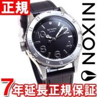 ニクソン NIXON 38-20レザー 38-20 LEATHER 腕時計 レディース ブラックゲー...