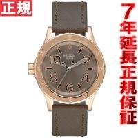 ニクソン NIXON 38-20レザー 38-20 LEATHER 腕時計 レディース ローズゴール...