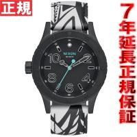 ニクソン NIXON 38-20レザー 38-20 LEATHER 腕時計 レディース ブラック/ブ...