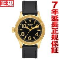 ニクソン NIXON 38-20レザー 38-20 LEATHER 腕時計 レディース ゴールド/ブ...