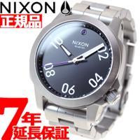 ニクソン NIXON レンジャー40 RANGER 40 腕時計 メンズ/レディース ブラック NA...