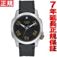 ニクソン NIXON レンジャー40レザー RANGER 40 LEATHER 腕時計 メンズ ブラ...