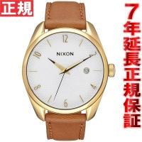 ニクソン NIXON ブレットレザー BULLET LEATHER 腕時計 レディース ゴールド/サ...