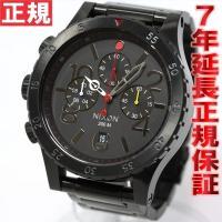 ニクソン NIXON 48-20 CHRONO クロノ 腕時計 メンズ  オールブラック/マルチ ク...