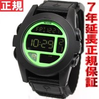 ニクソン NIXON バハ BAJA 腕時計 メンズ ブラック/ネオングリーン 日本先行発売カラー ...