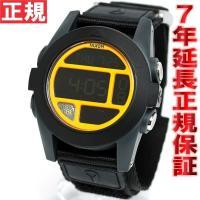 ニクソン NIXON バハ BAJA 腕時計 メンズ ブラック/スティールブルー/ネオンオレンジ N...