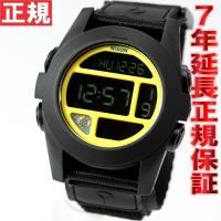 ニクソン NIXON バハ BAJA 腕時計 メンズ ブラック/イエロー 日本先行発売カラー デジタ...