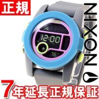 ニクソン NIXON ユニット40 UNIT 40 腕時計 レディース/メンズ チャコール/ネイビー...