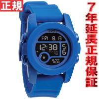 ニクソン NIXON ユニット40 UNIT 40 腕時計 メンズ/レディース コバルト デジタル ...