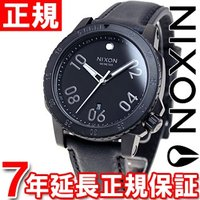 ニクソン NIXON レンジャーレザー RANGER LEATHER 腕時計 メンズ オールブラック...