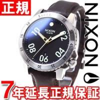 ニクソン NIXON レンジャーレザー RANGER LEATHER 腕時計 メンズ ブラック/ブラ...