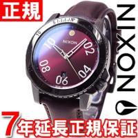 ニクソン NIXON レンジャーレザー RANGER LEATHER 腕時計 メンズ ガンメタル/デ...