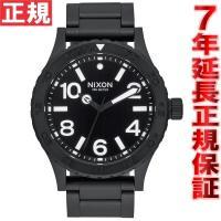ニクソン NIXON 46 腕時計 メンズ オールブラック NA916001-00 大きすぎず、かと...