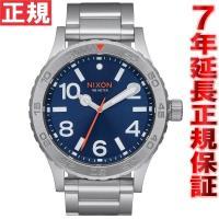 ニクソン NIXON 46 腕時計 メンズ ブルーサンレイ NA9161258-00 大きすぎず、か...