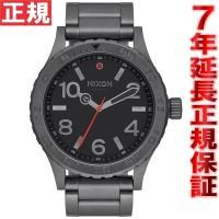ニクソン NIXON 46 腕時計 メンズ オールガンメタル NA916632-00 大きすぎず、か...