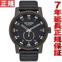 ニクソン NIXON パトリオットレザー PATRIOT LEATHER 腕時計 メンズ ブロンズ/...