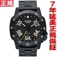 ニクソン NIXON レンジャーGMT RANGER GMT 腕時計 メンズ オールブラック NA9...