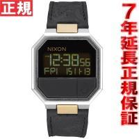 ニクソン NIXON リ・ランレザー RE-RUN LEATHER 腕時計 メンズ/レディース ブラ...